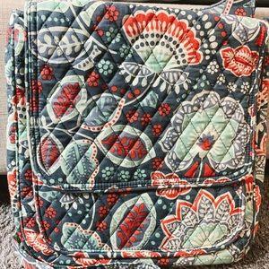 Vera Bradley Nomadic Floral Mailbag